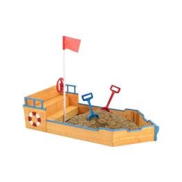 Lada de Nisip in Forma de Nava Pirat
