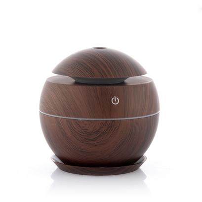 Mini Umidificator Ultrasonic – Dark Walnut