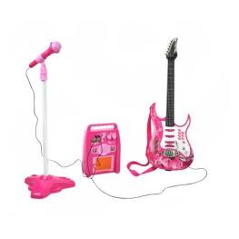 Set Chitara Electrica - Pink